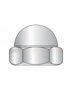 M5-0.8 Closed End Acorn Nuts / Low Crown / A2 Stainless Steel / DIN 1587 (Quantity: 3000)