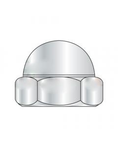 5/8-11 Closed End Acorn Nuts / Low Crown / Steel / Nickel (Quantity: 500)