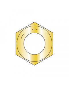 7/8-14 Finished Hex Nuts / Grade 8 Steel / Zinc Yellow (Quantity: 180)