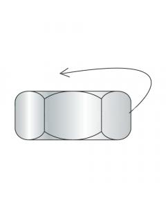 1/4-20 Left Hand Thread Hex Nuts / Steel / Zinc (Quantity: 3000 pcs)