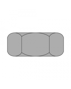 """2 1/4""""-12 Finished Hex Nuts / Grade 2 Steel / Plain Finish (Quantity: 1)"""