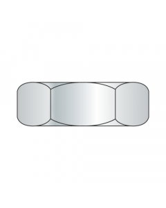 0-80 Hex Machine Screw Nuts / Steel / Zinc (Quantity: 10,000 pcs)