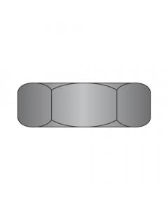 1/4-20 Hex Machine Screw Nuts / Steel / Black Zinc (Quantity: 5,000 pcs)