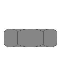"1/4-20 Hex Jam Nuts / Steel / Plain / Width Across Flats: 7/16"" / Thickness: 3/16"" (Quantity: 9000 pcs)"