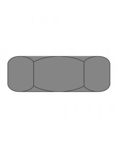 "2 1/2""-12 Hex Jam Nuts /  Steel / Plain Finish (Quantity: 10)"