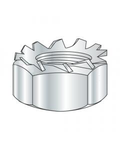 5-40 Hex Keps Nuts / Steel / Zinc (Quantity: 5,000 pcs)