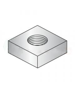 1/4-20 Square Machine Screw Nuts / Steel / Zinc (Quantity: 4000 pcs)