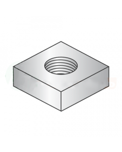 8-32 Square Machine Screw Nuts / Steel / Zinc (Quantity: 10000 pcs)