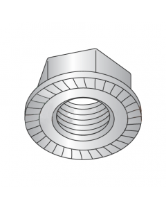 1/2-13 Serrated Hex Flange Locknuts / 316 Stainless Steel (Quantity: 700)