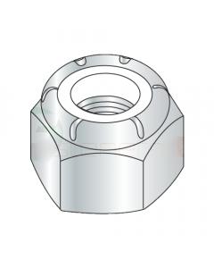 6-40 Light Hex Standard / NM Nylon Insert Locknuts / Steel / Zinc (Quantity: 100 pcs)
