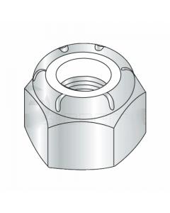 M48-5.00 Nylon Insert Locknut DIN 985 / Metric Class 8 Steel / Zinc Plated (Quantity: 15)