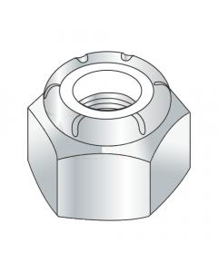 1-8 Heavy Hex / NU Nylon Insert Locknuts / Steel / Zinc (Quantity: 20 pcs)