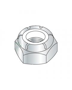 4-48 Light Hex / Thin / NTM Nylon Insert Locknuts / Steel / Zinc (Quantity: 100 pcs)