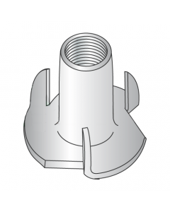 """8-32 X 1/4"""" 3 Prong Tee Nuts / 18-8 Stainless Steel (Quantity: 1,000 pcs)"""