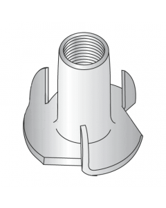 """#10-32 x 9/32"""", 3 Prong Tee Nuts / 18-8 Stainless Steel (Quantity: 4000 pcs)"""