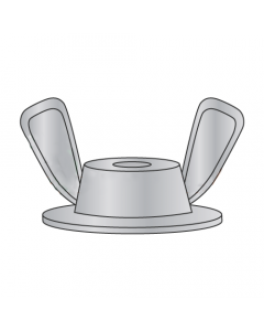 """1/4-20 X 3/4 X 1 Washer Base Wing Nuts / Die Cast Zinc Alloy / Washer OD: 3/4"""" / Wing Spread: 1"""" (Quantity: 1,000 pcs)"""