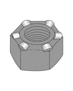 1/4-20 Hex Weld Nuts / 6 Projections / Self-Locating Pilot / Steel / Plain (Quantity: 1,000 pcs)