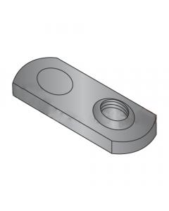 8-32 Single Projection Tab Weld Nuts / Steel / Plain (Quantity: 1,000 pcs)