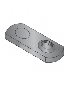 10-32 Single Projection Tab Weld Nuts / Steel / Plain (Quantity: 1,000 pcs)