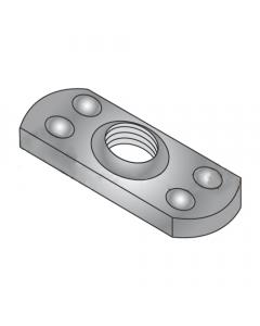 1/2-20 Multi-Projection Tab Weld Nuts / Steel / Plain (Quantity: 1,000 pcs)