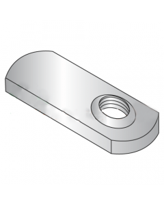 5/16-24 Offset Hole Tab Weld Nuts / No Projections / 18-8 Stainless Steel (Quantity: 1,000 pcs)