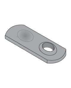1/4-28 Spot Weld Nuts / Thin Target Area / Steel / Plain (Quantity: 1000 pcs)