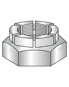 1 1/2-12 Heavy Hex Thin Height Flex Locknuts / Steel / Plain (Quantity: 1)