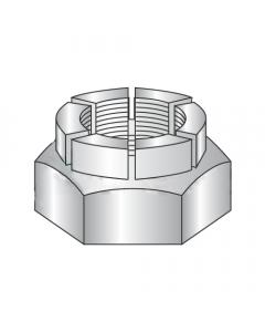 3/8-24 Thin Height Flex Locknuts / Steel / Cadmium (Quantity: 1)