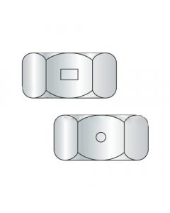 3/4-16 Two Way Reversible Hex Locknuts / Steel / Zinc (Quantity: 100 pcs)