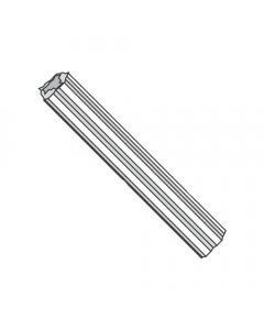 """#10 - #12 x 1"""" Fluted Plastic Anchors / Nylon / For Use With #10 - #12 Screws / Length: 1"""" / Drill Size: 1/4"""" (Quantity: 1,000 pcs)"""