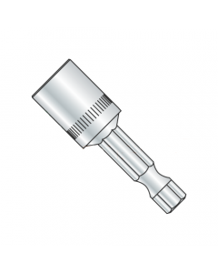 "5/16 X 2 9/16 Magnetic Power Nutsetter Bit / Hex Size: 5/16"" / Length 2 9/16"" / Shank: 1/4"" (Quantity: 20 pcs)"