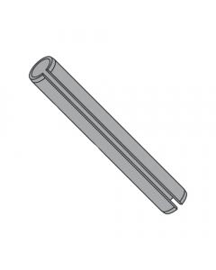 "5/64"" x 1/4"" Roll (Spring) Pins / Steel / Plain (Quantity: 4,000 pcs)"