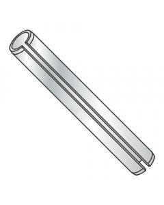 "1/4"" x 1/2"" Roll (Spring) Pins / Steel / Zinc (Quantity: 1,000 pcs)"