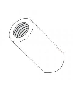 "3/16"" OD Round Standoffs (Female-Female) / 2-56 x 1/2"" / Nylon / Outer Diameter: 3/16"" / Thread Size: 2-56 / Length: 1/2"" (Quantity: 1,000 pcs)"