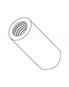 "5/16"" OD Round Standoffs (Female-Female) / 8-32 x 3/4"" / Nylon / Outer Diameter: 5/16"" / Thread Size: 8-32 / Length: 3/4"" (Quantity: 1,000 pcs)"