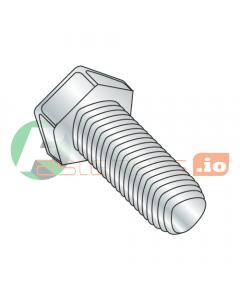 "1/4-20 x 1"" Full Trilobe Thread Forming Screws / Unslotted / Hex Head / Steel / Zinc (Quantity: 2,500 pcs)"