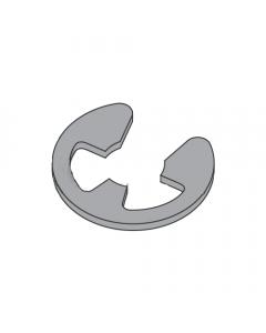 ".062"" E-Style Retaining Rings / Steel / Black Phosphate (Quantity: 3,000 pcs)"