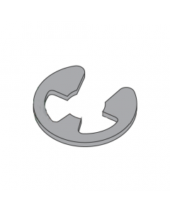 ".984"" (SE) E-Style Retaining Rings / Steel / Black Phosphate (Quantity: 500 pcs)"