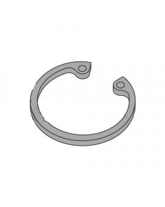 ".812"" Internal Style Retaining Rings / Steel / Black Phosphate (Quantity: 1,000 pcs)"