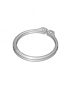 """.594"""" External Style Retaining Rings / Stainless Steel (Quantity: 100 pcs)"""