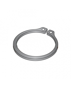".750"" External Style Retaining Rings / Steel / Black Phosphate (Quantity: 1,000 pcs)"