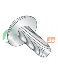 """1/4-20 x 3/8"""" Full Trilobe Thread Forming Screws / Phillips / Truss Head / Steel / Zinc (Quantity: 6,000 pcs)"""