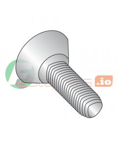 "10-32 x 3/8"" Full Trilobe Thread Forming Screws / Phillips / Flat Undercut Head / 18-8 Stainless Steel (Quantity: 4,000 pcs)"