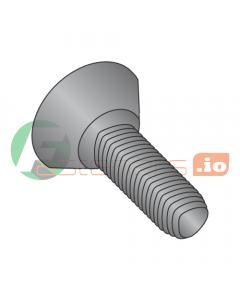 "10-32 x 3/8"" Full Trilobe Thread Forming Screws / Phillips / Flat Undercut Head / Steel / Black Oxide (Quantity: 10,000 pcs)"
