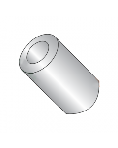 """3/16"""" OD Round Spacers / #4 x 1/8"""" / Stainless Steel / Outer Diameter: 3/16"""" / Hole Size: #4 / Length: 1/8"""" (Quantity: 500 pcs)"""