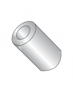 """1/4"""" OD Round Spacers / #8 x 7/16"""" / Stainless Steel / Outer Diameter: 1/4"""" / Hole Size: #8 / Length: 7/16"""" (Quantity: 500 pcs)"""
