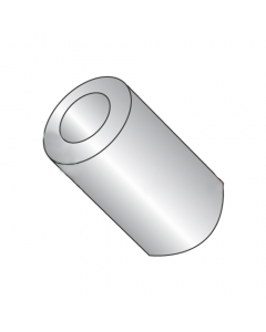 """5/16"""" OD Round Spacers / #10 x 1"""" / Stainless Steel / Outer Diameter: 5/16"""" / Hole Size: #10 / Length: 1"""" (Quantity: 100 pcs)"""