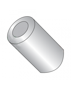 "1/2"" OD Round Spacers / #10 x 1 1/8"" / Aluminum / Outer Diameter: 1/2"" / Hole Size: #10 / Length: 1 1/8"" (Quantity: 1,000 pcs)"