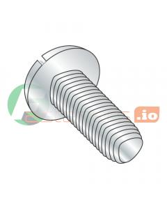 "6-32 x 3/8"" Full Trilobe Thread Forming Screws / Slotted / Pan Head / Steel / Zinc (Quantity: 10,000 pcs)"