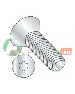 """10-24 x 3/4"""" Full Trilobe Thread Forming Screws / Six-Lobe (Torx) / Flat Head / Steel / Zinc (Quantity: 7,000 pcs)"""